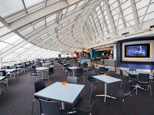 Café Galileo's at the Adler Planetarium